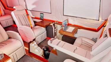 Klassen Sprinter VIP armoured leather seats