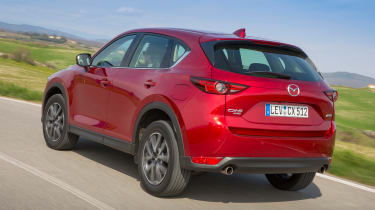 Mazda CX-5 2017 - manual Tuscany rear tracking