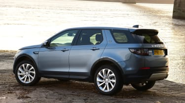 Land Rover Discovery Sport - static rear