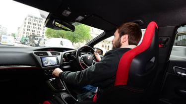 Honda Civic Type R long term - third report johnny driving