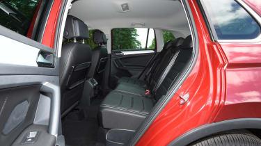 Mazda CX-5 vs Skoda Kodiaq vs VW Tiguan - Volkswagen Tiguan rear seats