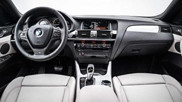 BMW X4 cabin