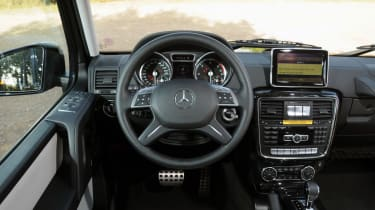 Mercedes G350 Bluetec interior