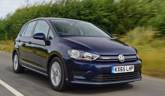 Volkswagen Golf SV BlueMotion TSI 2016 - front tracking