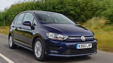 Volkswagen Golf SV BlueMotion TSI 2016 - front tracking
