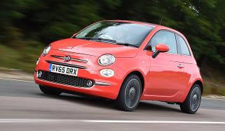 Fiat 500 - front