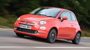 Fiat 500 - front