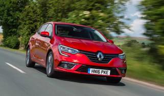 Renault Megane diesel - front action