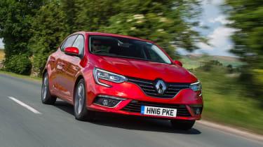 Renault Megane - front tracking