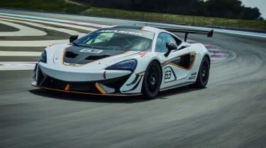 McLaren 570S Sprint - front cornering
