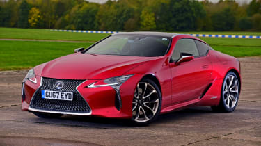 Lexus LC 500h - front static