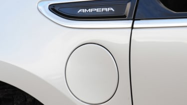 Vauxhall Ampera charging socket