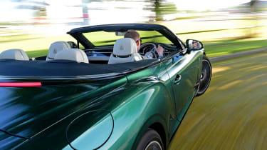 Bentley Continental GT Convertible - driving