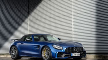 Mercedes-AMG GT R Roadster - front roof up