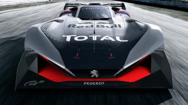 Peugeot L750 R Hybrid Vision Gran Turismo - straight ahead