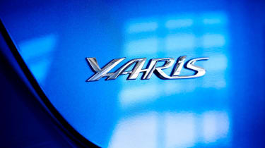 Toyota Yaris - badge