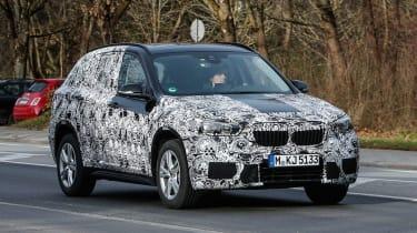 2015 BMW X1 spyshots