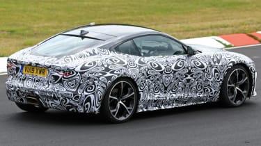 Jaguar F-Type - spied - rear 3/4 cornering
