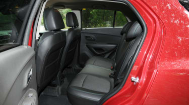 The rear seats have eight different configurations to increase the load space in the rear.
