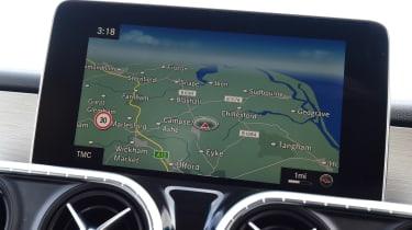 Mercedes X-Class - infotainment