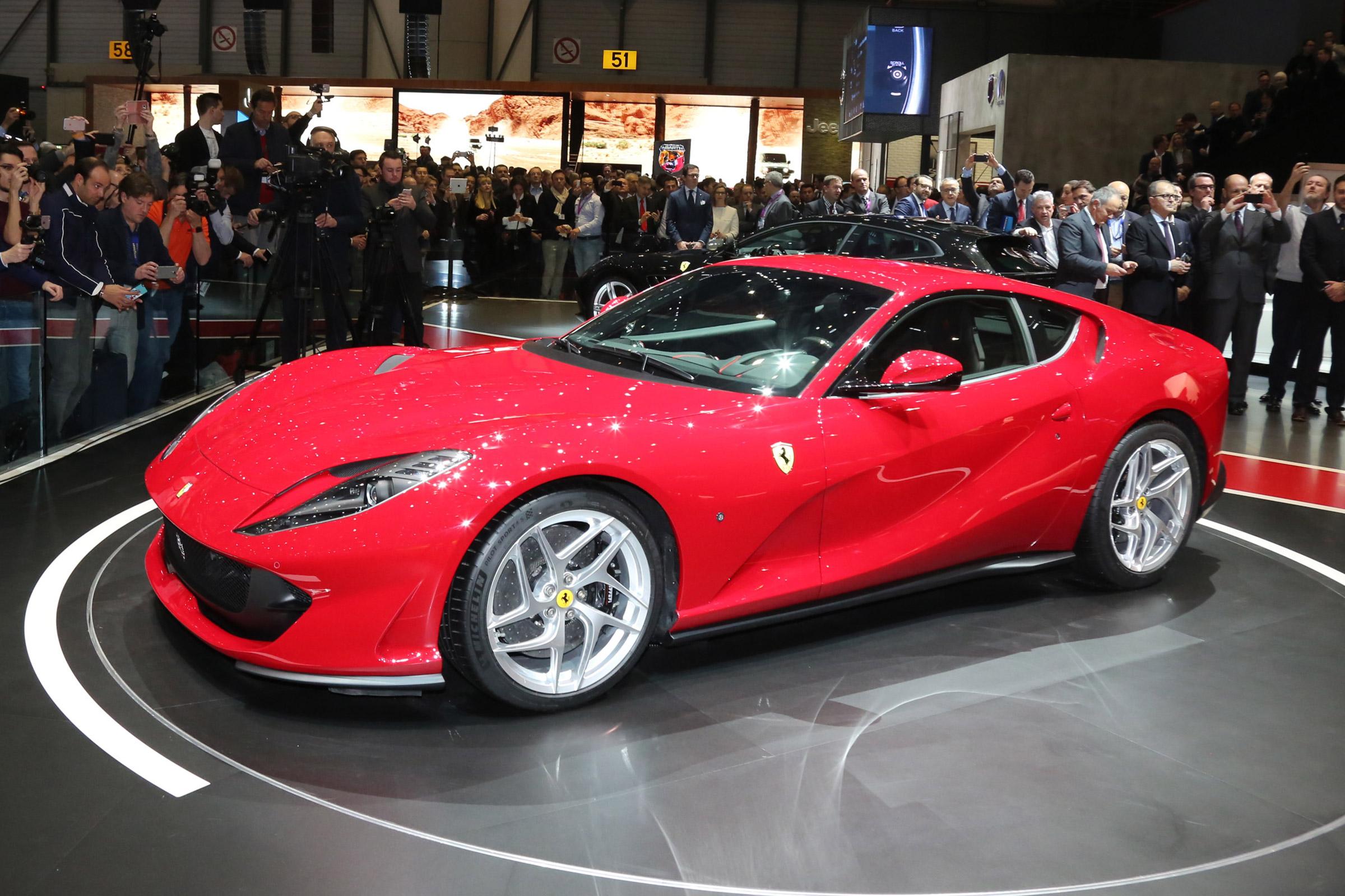 Ferrari 812 Superfast Revealed At Geneva With 789bhp V12 Auto Express