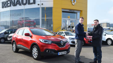 Renault Kadjar - long term first report header