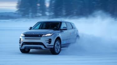 Range Rover Evoque prototype - front/side
