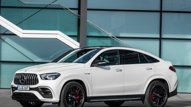 Mercedes-AMG GLE 63 S Coupe - front static