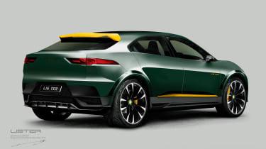 Lister SUV-E Concept - rear