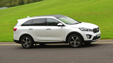 Kia Sorento long termer side