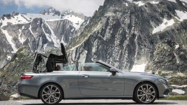 Mercedes E-Class Cabriolet - roof closing