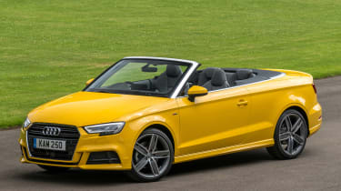 Audi A3 Cabriolet - front static