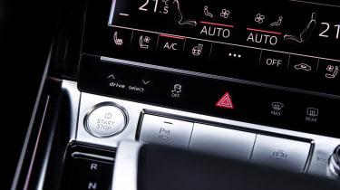 Audi e-tron Prototype review - starter button
