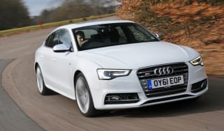 Audi S5 Sportback front tracking