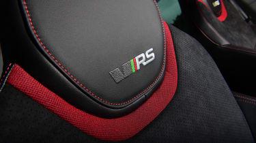 Skoda Octavia vRS Challenge - seat detail