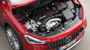Mercedes-AMG GLA 35 - engine