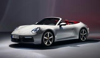 Porsche 911 Carerra Cabriolet - front