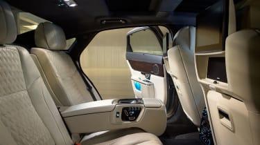 Jaguar XJ Interior - rear