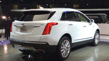 Cadillac XT5 rear