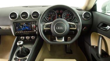 Used Audi TT - dash