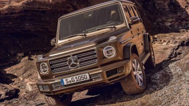 Mercedes G-Class leaked front quarter