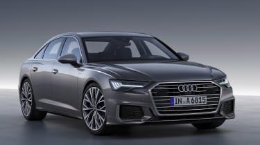 New Audi A6 - studio front static
