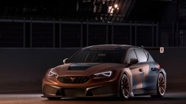 Cupra Leon Competicion - front 3/4 static