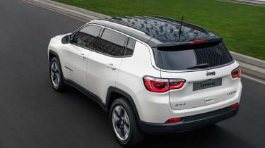 2017 Jeep Compass - rear quarter