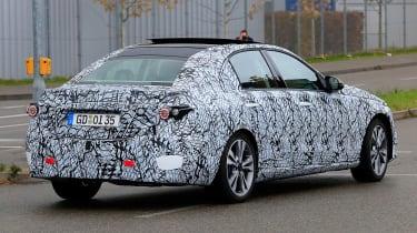 New Mercedes C-Class - spy shot 12
