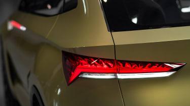 Skoda Vision E concept - tail light