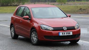 VW Golf 1.6 TDI Match BlueMotion Tech front