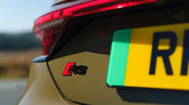 Audi RS e-tron GT - RS badge