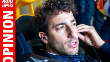 Opinion - Daniel Ricciardo