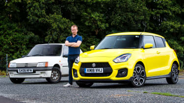 Suzuki Swift Sport long-term test - Peugeot 205 XS